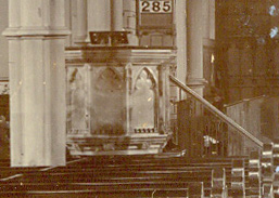 pulpit in 1905