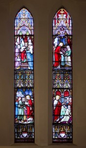 Holy Trinity Church, Waterhead - Abraham Leach window