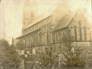 Holy Trinity Church, Waterhead - Church Exterior 1890