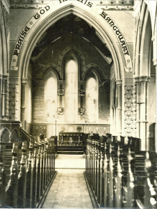 Holy Trinity Church, Waterhead - Church Interior - 1869 or 1870
