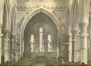Holy Trinity Church, Waterhead - Church Interior - 1905(2)