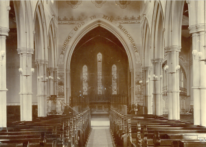 Holy Trinity Church, Waterhead - Church Interior - 1905(3)