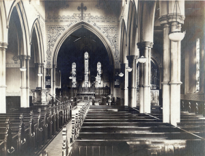Holy Trinity Church, Waterhead - Church Interior - 1920