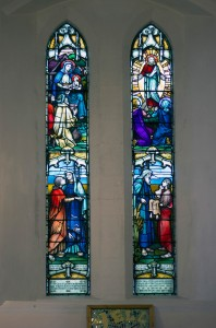 Holy Trinity Church, Waterhead - Sarah Lees & Ben Harrop window