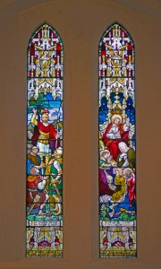 Holy Trinity Church, Waterhead - Schofield window