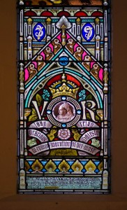 Holy Trinity Church, Waterhead - Victoria window detail
