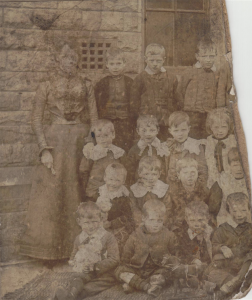 Holy Trinity Church, Waterhead - Waterhead School Class Photo - 1870s